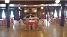 Pink and Blue Wedding at the Chandelier Ballroom
