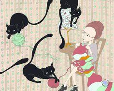 https://flic.kr/p/922HJs | mademoiselle e os gatos #02