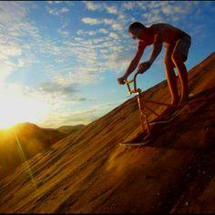 Sand ski bike