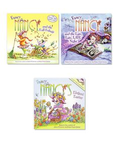 Loving this Fancy Nancy and the Fall Foliage Paperback Set on #zulily! #zulilyfinds