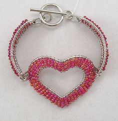 Glass Seed Beads Bracelet