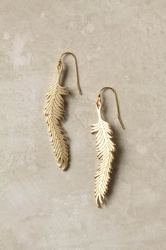 Love these earrings from anthropologie.