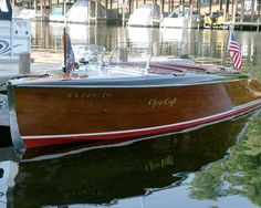 Nothing like a classic Chris Craft.