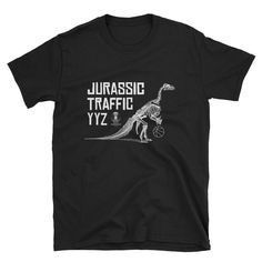 Youve now found the staple t-shirt of your wardrobe. And the double stitching on the neckline and sleeves add more durability to what is sure to be a favorite! Raptors, Toronto, Trending Outfits, Short Sleeves, Etsy Shop, Unisex, Clothing, Mens Tops, T Shirt