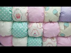 Гнездышко кокон для новорожденных своими руками пошив / babynest diy English subtitles - YouTube