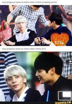 Jonghyun & Minho   SHINee
