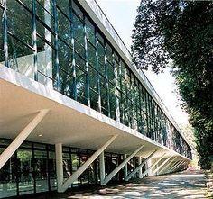 Pavilhão da Bienal no Ibirapuera, São Paulo/ Oscar Niemeyer