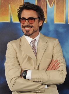 Robert Downey Jr wearing Jaeger-LeCoultre AMVOX 3 Tourbillion for Iron Man