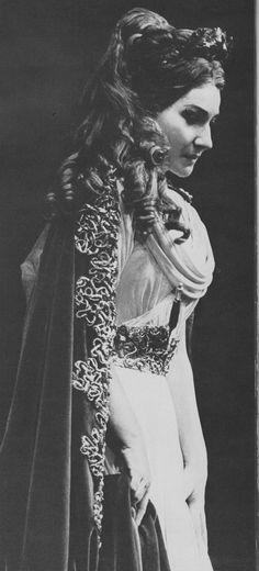 Maria Callas, in Bizet's Carmen, 1954.