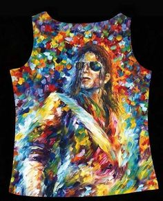 VEST WOMAN  ART TANK TOP STAR  Michael Jackson