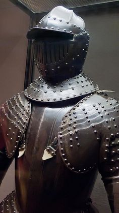 Cuirassier Armor 1633-1634 CE possibly made in Milan Italy Blued and Partially Gilded Steel (4) | Flickr - Photo Sharing!