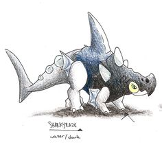 My entries to PokemonSE's water starter contest. They're spotted-salamanders... What more can I say? Oh, they have the possibility of having either the ability Torrent or Heatproof, as my...