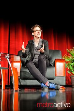 The shoes! The shoes! Rachel Maddow accepting the John Steinbeck Award at SJSU. (via jrsdphotography) Lds Talks, Rachel Maddow, Real Hero, Madly In Love, Love Letters, Hair Designs, Workout Gear, Spring Summer Fashion, Lust