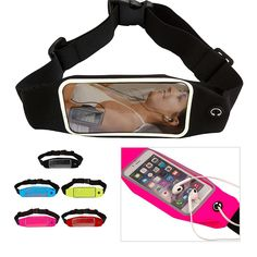 Online Shop 2015 More Color Running waist pack for iPhone 6 Men Women Fanny Pack Bag Hip Money Belt travelling Mountaineering Cycling 4.7''|Aliexpress Mobile