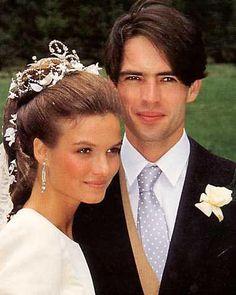 Wedding of Count Thierry of Limburg-Stirum and Katia della Faille de Leverghen 1990