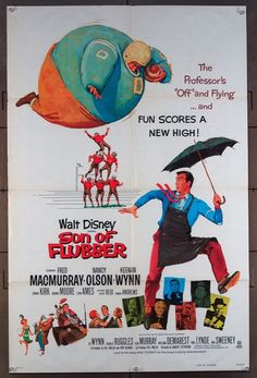 MovieArt Original Film Posters - SON OF FLUBBER (1962) 26171, $25.00 (https://www.movieart.com/son-of-flubber-1962-26171/)