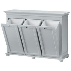 Home Decorators Collection Hampton Harbor 37 in. Triple Tilt-Out Hamper in White 2601330410 at The Home Depot – Mobile Home Decorators Collection Hampton Harbor 37 in. Triple Tilt-Out Hamper in White 2601330410 at The Home Depot – Mobile Laundry Sorter, Laundry Room Organization, Laundry Room Design, Laundry Room Layouts, Design Kitchen, Diy Kitchen, Tilt Out Hamper, Tilt Out Laundry Hamper, Laundry Hamper Cabinet