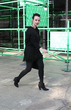 chegando megafina na Bienal - Juliana e a Moda | Dicas de moda e beleza por Juliana Ali
