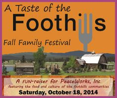 Local Event: Taste of the Foothills ~Fall Family Festival   Macaroni Kid