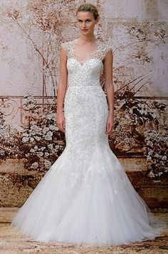 Monique Lhuillier Monique Lhuillier, Fall 2014 Wedding Dresses || Colin Cowie Weddings