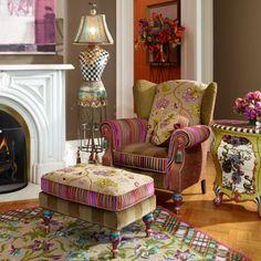 MacKenzie-Childs - Dressmaker's Floor Lamp