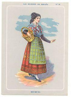 Murcia, Folk Costume, Costumes, Regional, Playing Dress Up, Traditional, Illustration, Portugal, Europe