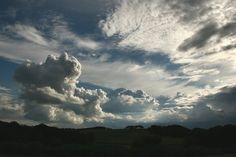 Landscape with Clouds, Laven