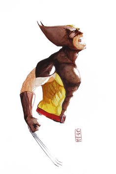 Wolverine by vafgraphic