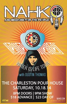 Nahko and the Medicine People :: The Charleston Pour House :: October 18, 2014 :: Charleston, SC
