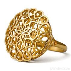 Another local designer I'm obsessed with, Jason Dow. Small Mandala Ring.