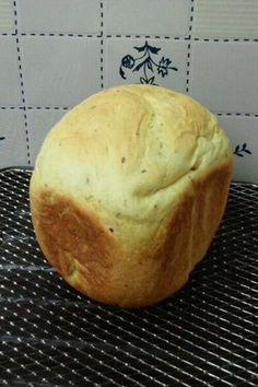 HBでさつまいもたっぷりの食パン