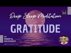Guided Deep Sleep Meditation for Developing a Positive Perspective and Gratitude / Mindful Movement Deep Sleep Meditation, Bedtime Meditation, Guided Mindfulness Meditation, Meditation Benefits, Meditation Quotes, Meditation Practices, Yoga Meditation, Healing Meditation, Relaxing Yoga
