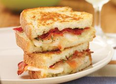 Spicy Shrimp Grilled Cheese