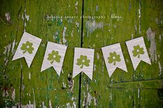 Easy St. Patrick's Day Banner