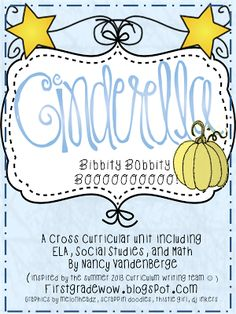 FREE 90 page unit on Cinderella and fairy tales! Reader's Theater Scripts, project ideas, worksheets and more!