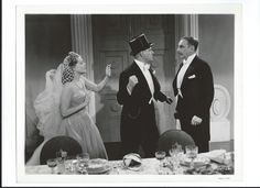 Jeanette MacDonald, Nelson Eddy and Douglass Dumbrille i  I Married an Angel - Escano Collection