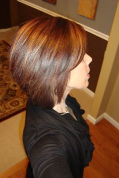 Stacked bob...love it