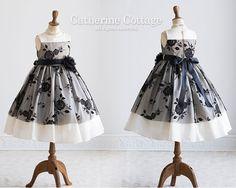 158ae4579d430 子供ドレス ローズ刺繍チュールドレス 女の子 結婚式 発表会 パーティ キッズフォーマルと子供