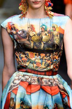 Dolce & Gabbana Spring 2013 - Details♥♥♥♥♥♥♥♥♥♥♥♥♥♥♥ fashion consciousness ♥♥♥♥♥♥♥♥♥♥♥♥♥♥♥