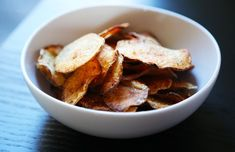 Baked Salt-and-Vinegar Chips Recipe | LIVESTRONG.COM
