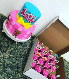 LOL Surprise Dolls Birthday Cake & cupcakes