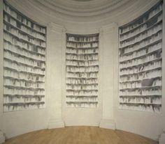 Ghost Books.   Biblioteca d'Arte e di Storia di San Giorgio in Poggiale - via N. Sauro 22 - Claudio Parmiggiani, Delocazione