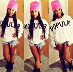Cute.. I don't like the beanie much.. Many a red one and smaller for her little head! I mark as SWAG But you needs stepp it up ;)