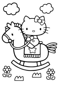 「ぬりえ」のブログ記事一覧(4ページ目)です。昔の子供も、未来の大人も、みんな集まれ!! 振り幅大きい、好事家の為の趣味的世界!!!【ミツキ・MA・ウスの小さな世界】 Hello Kitty Colouring Pages, Cute Coloring Pages, Cartoon Coloring Pages, Coloring For Kids, Coloring Books, Art Drawings For Kids, Drawing For Kids, Hello Kitty Haus, Hello Kitty Drawing