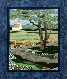 Country Road Pieced Quilt Pattern