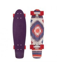 """Penny Skateboards USA Penny Holiday 27"""" Aztec// AND THIS ONE TOO. I'm probably going to get this one. I love the Aztec design it's great ^_^"""