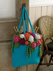 Ravelry: Rose Garden Tote pattern by Michele Wilcox