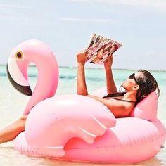 150cm matras Water gigantische roze Flamingo zwembad door Airzeta