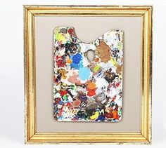 Framed Antique Paint Palettes in antique frames; $350 to $450 at Partners & Spade in New York.