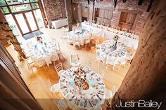 The wedding breakfast at Gaynes Park.  Photographer - Justin Bailey  http://www.justin-bailey.co.uk/weddings/wedding-photographer-gaynes-park-suzanne-and-mark/#